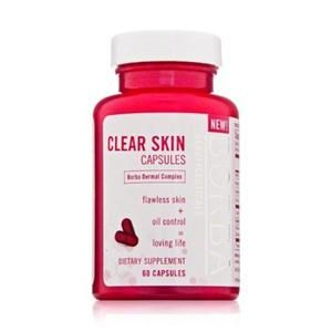 Borba Clear Skin Capsules 60 Count Capsules Exp. Date 11/30/12