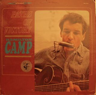 Hamilton Camp Paths of Victory LP Original Elektra Bob Dylan SHRKWRP