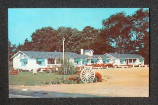 Front Rest Motel U.S. Rt. 130 Scudder Wagon Wheel Bordentown NJ PC