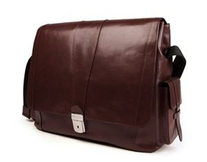 Bosca Old Leather Collection Messenger Bag   Retails for $525