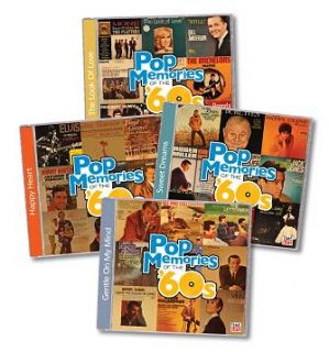 Pop Memories of The 60s Time Life 8 CD Add on Set