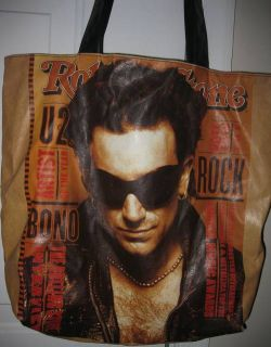 Rolling Stones Bono U2 Licensed Tote Bag Too Cool Issue 651 March 1993
