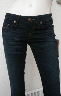 True Religion Womens Bobby Snake Eyes Flare Jeans in Luckdraw