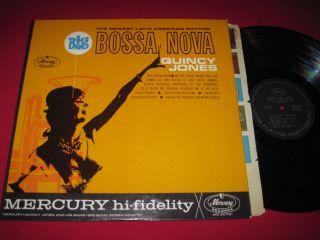 VG Jazz LP Bossa Nova Quincy Jones Mercury MG 20751