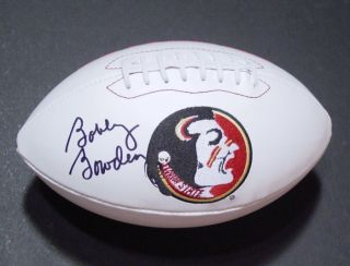 Bobby Bowden Signed Auto Flordia State St FSU Football