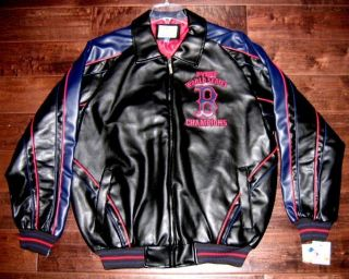 Boston Red Sox World Series Champs Ring Logo GIII Jacket Mens Medium M