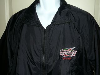 NASCAR 18 Bobby Labonte r Kyle Busch Interstate Batteries Windbreaker