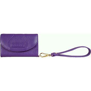BODHI Tri Fold Wristlet Wallet for iPhone Violet