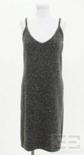 BOTTEGA VENETA Heather Gray Wool Cashmere Dress Size 42