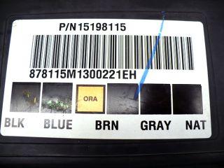 2007 Chevy Silverado Sierra Body Control Module BCM 15198115
