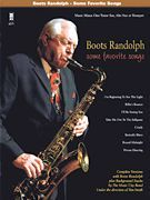 Boots Randolph Some Favorite Songs Sax Music Book CD