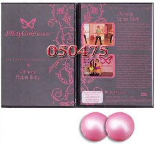 Flirty Girl Fitness Upper Body Workout DVD 2 Gel Balls