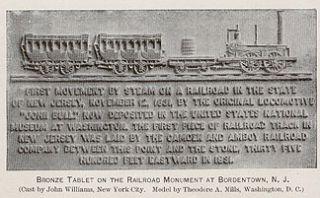 RAILROAD history trains 1892 Bordentown NJ engineering steam locos