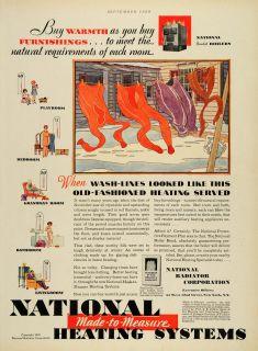 National Heating System Radiator Laundry Line Clothing Boiler Winter