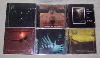 Dark Ambient Metal Neo Folk CDs Uruk Hai Karna Bosque Black VGC