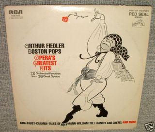 LP Boston Pops The Operas Greatest Hits Vinyl Record 12 33rpm Album