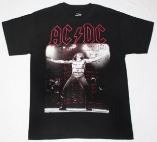 AC DC Bon Scott If You Want Blood AC DC Hard Rock Band s XXL New Black