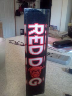 RED DOG 8BEER TAP HANDLE/3 SIDED/BRAND NEWNEW OLD STOCK
