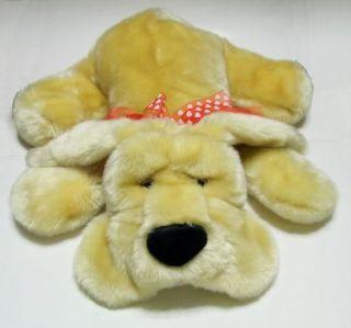 Kids of America Corp 2002 Floppy SOFT Plush Stuffed Dog LIGHT Brown
