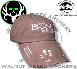 Bone Collector Ladies Logo Brown and Pink Hat Perfect