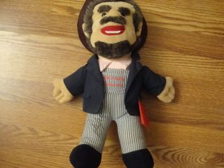 NICE BOXCAR WILLIE country music concert tour Autograhed Doll