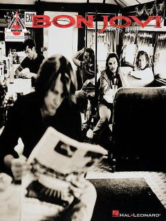 Bon Jovi Cross Road Greatest Hits Guitar Tab Book