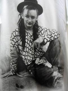 Boy George Culture Club 80s New Wave Rock T Shirt M