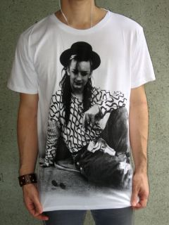 Boy George Culture Club 80s Pop Rock Retro T Shirt M