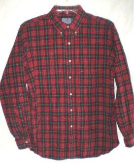 Vintage PENDLETON Authentic Boyd Tartan Plaid Wool Shirt Large