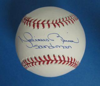 Mariano Rivera Inscribed Sandman Yankees Signed Autographed Baseball