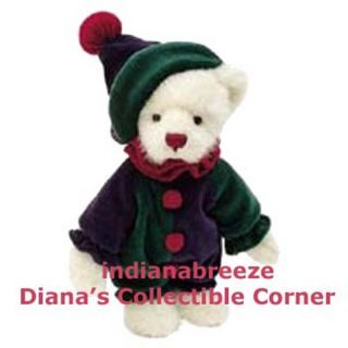 Boyds Snickersnoodle 8 Plush Boyds Bear New with Tags Ready to SHIP
