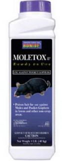 Bonide 698 1 lb Moletox II Mole and Gopher Bait Killer