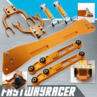 Subframe Brace Front and Rear Lower Control Arms Rear Camber Kit LCA