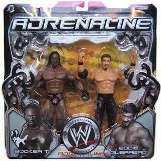 Booker T Eddie Guerrero Adrenaline WWE Avtion Figures