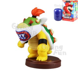 2012 Super Mario Bros King Bowser Koopa Jr Figure Toy Wii Vol 3