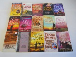 Lot of 45 Diana Palmer Western Romance Paperback Books ~ Long, Tall