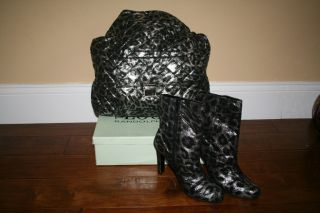 Look by Randolph Duke x Large Hobo Bag and Matching Ankle Boots