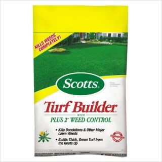 Scotts Super Turf Builder Lawn Fertilizer w Plus 2 Weed Control 3005