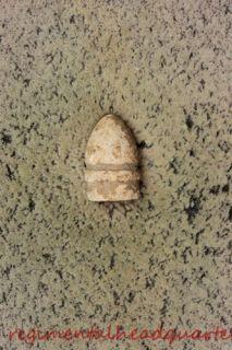 War Bullet 36 Cal Unlisted in Mason McKee Dug Brandy Station VA