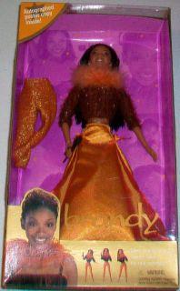 Vintage New In Box Mattel 1999 Pop Star Brandy Barbie doll