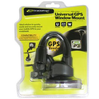 Bracketron GWM 307 BL GPS Car Window Mount for Nextar Garmin TomTom