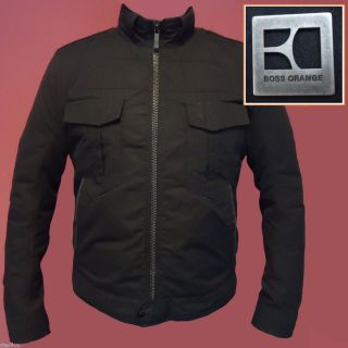 Hugo Boss Orange Label by Hugo Boss Motorcycle Style Jacket
