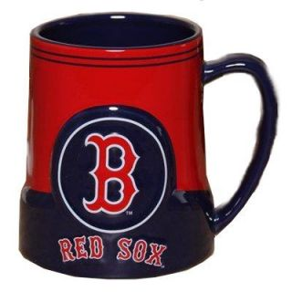 Boston Red Sox MLB Baseball Game Time 20oz Ceramic Coffee Mug
