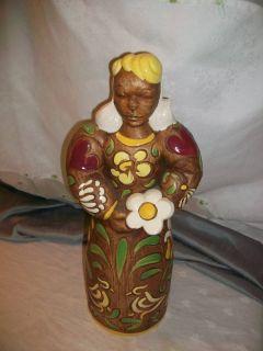 Brayton Laguna Vintage Pottery Figure Highly Unusual