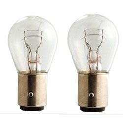 PHILIPS P21/5W TWIN FILAMENT BRAKE LIGHT BULBS
