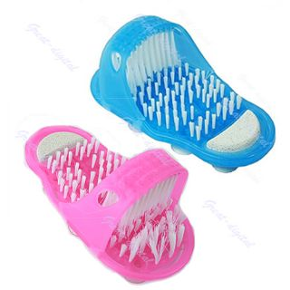 New Easyfeet Easy Feet Foot Scrubber Brush Massager Clean Bathroom