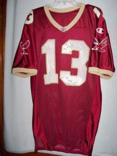 VTG Champion Authentic Boston College Eagles Game Used Worn Football