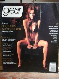 Gear Magazine July 2000 AURORA Elodie Bouchez