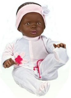 Berjuan Breast Milk Breastfeeding Baby Nursing Black Doll Jessica NEW