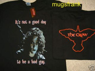 The Crow Movie Brandon Lee not Good Day T Shirt